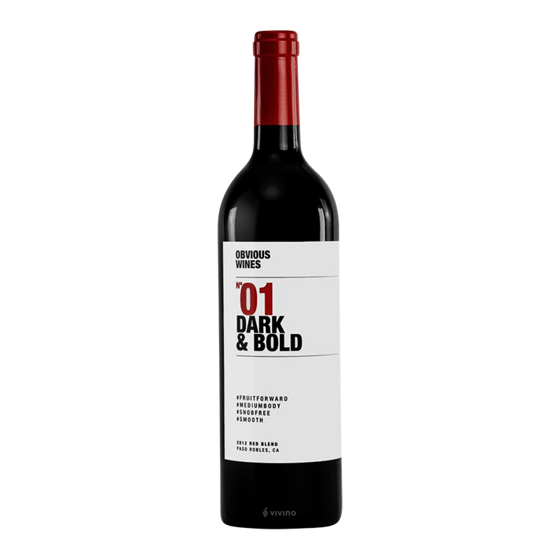 Obvious Red Blend, Paso Robles
