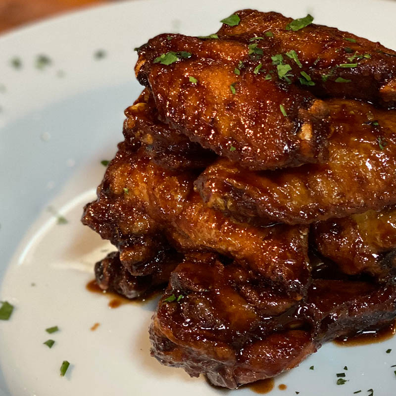 Honey Balsamic Wings