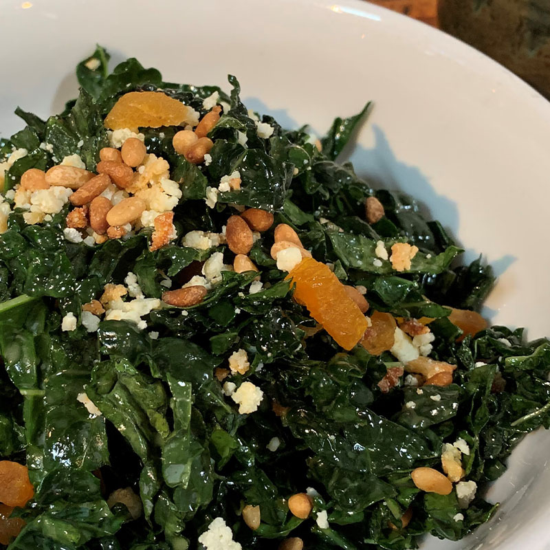 Black Tuscan Kale Salad