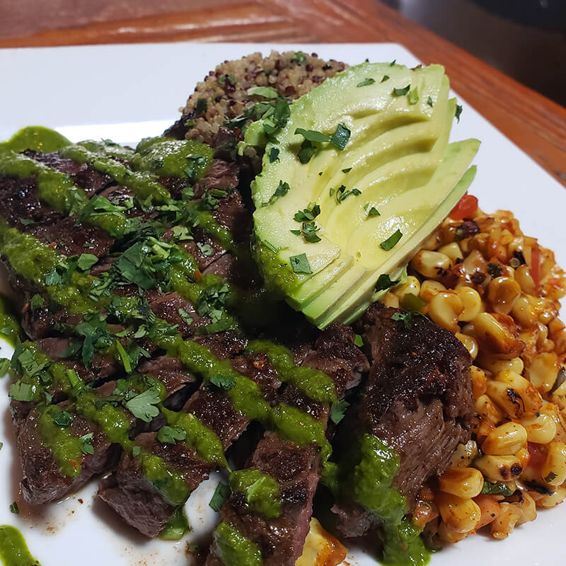 Chipotle Rubbed Skirt Steak*