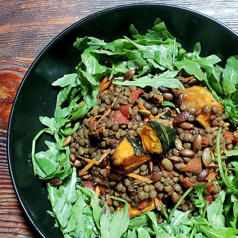 Moroccan Spiced Lentil Salad