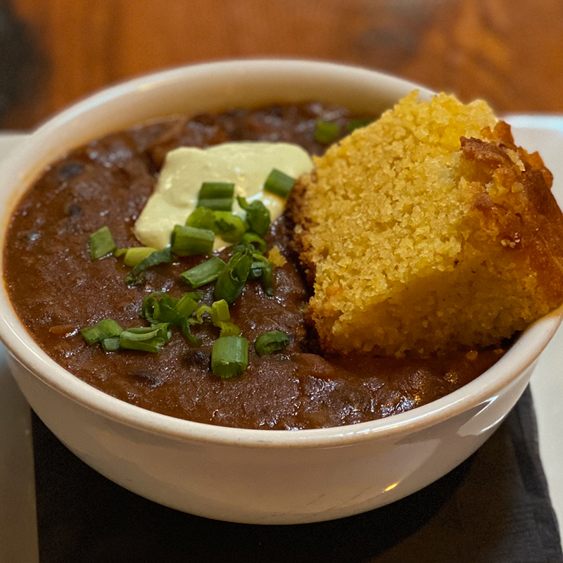 Tritip & Black Bean Chili